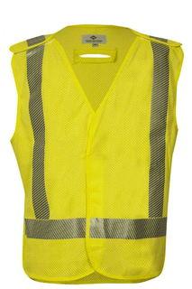 National Safety Apparel V06HA2VD2X VIZABLE FR Standard Breakaway Vest, ANSI Class 2 (2X)