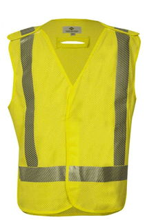 National Safety Apparel V06HA2VDLG VIZABLE FR Standard Breakaway Vest, ANSI Class 2 (LG)