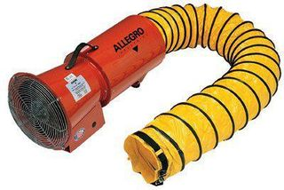 ORS NASCO, INC. 037-9506-01 12V DC AXIAL BLOWER W/CANISTER