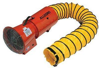 ORS NASCO, INC. 037-9514 AXIAL VENTILATION BLOWERW/CANI