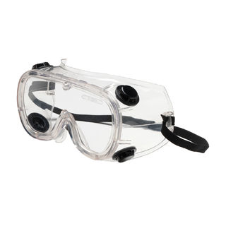 PIP 248-4401-300 Basic-IV Goggle, Clr Lens, Clr PVC  Frm, Elastic Strap, AS Lens