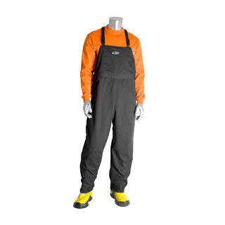 PIP 9100-53750/XL 100 Cal FR Overall, Multi Layer, Cotton, NFPA 70E/ASTM F1506, Navy, XL