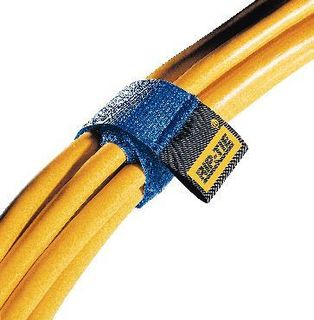 RIP-TIE INC H-09-010-BK CABLE STRAP NYLON BLK 1X9 PK10.