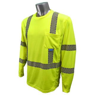 Radians ST31-3 Shirt, Cooling HiViz Long  Sleeve
