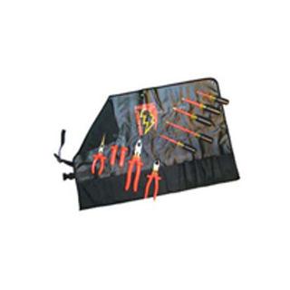 SALISBURY TK9 Tool Kit 9 Piece Basic Electrician Roll TK9