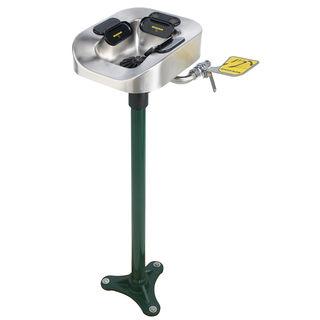 Speakman SE-1150 Optimus™ SE-1150 Eye And Face Wash Stainless Steel Bowl Pedestal Mount System