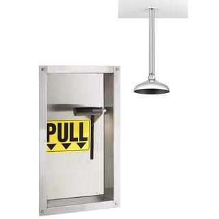 Speakman SE-238 Lifesaver® SE-238 Ceiling Mounted Vertical Emergency Shower