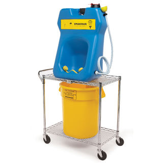 Speakman SE-4380 GravityFlo® SE-4380 Portable Eyewash & Transportation Cart