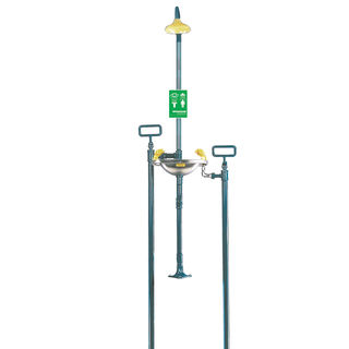 Speakman SE-609 Select Series SE-609 Freeze Protected Buried Supply Emergency Combination Shower wit