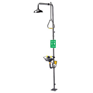 Speakman SE-625 Traditional Series SE-625 Combination Stainless Steel Emergency Shower with Eye/face