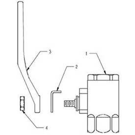 Speakman SE-912-T SE-912-T Stay Open Ball Valve