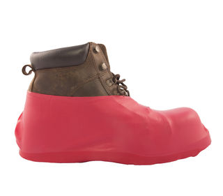 Tingley 6332.MD Boot Savers Shoe Covers 100 pair/Case Red M