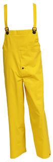 Tingley O53107 .35MM Industrial Work Overall - Yellow - Snap Fly Front, Size LG