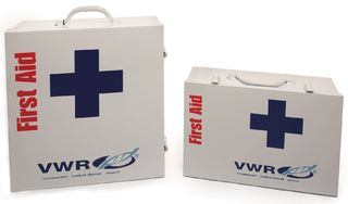 VWR International 76049-060 VWR CABINET W/3 SHELF W/MEDICATION METAL
