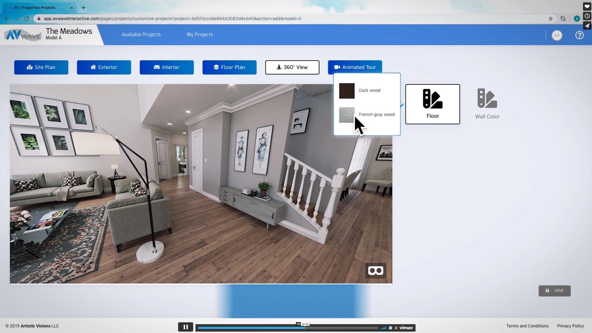 An Interactive Online Design Center & Sales Room Solution