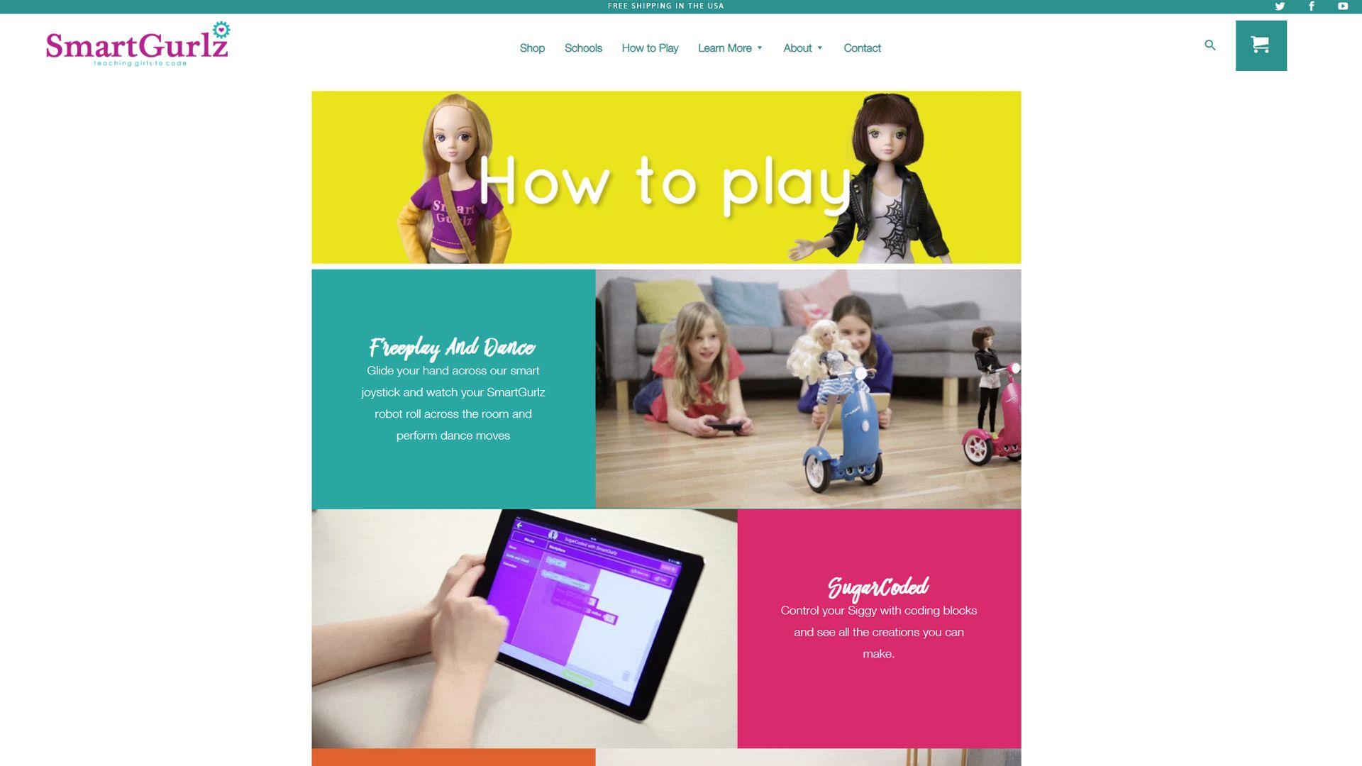 Smartgurlz, teaching girls how to code