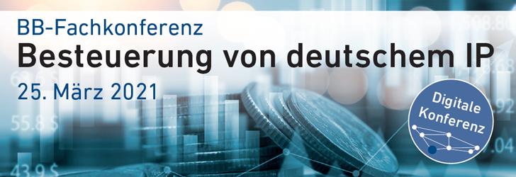Besteuerung von deutschem IP
