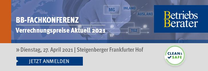 Verrechnungspreise Aktuell 2021