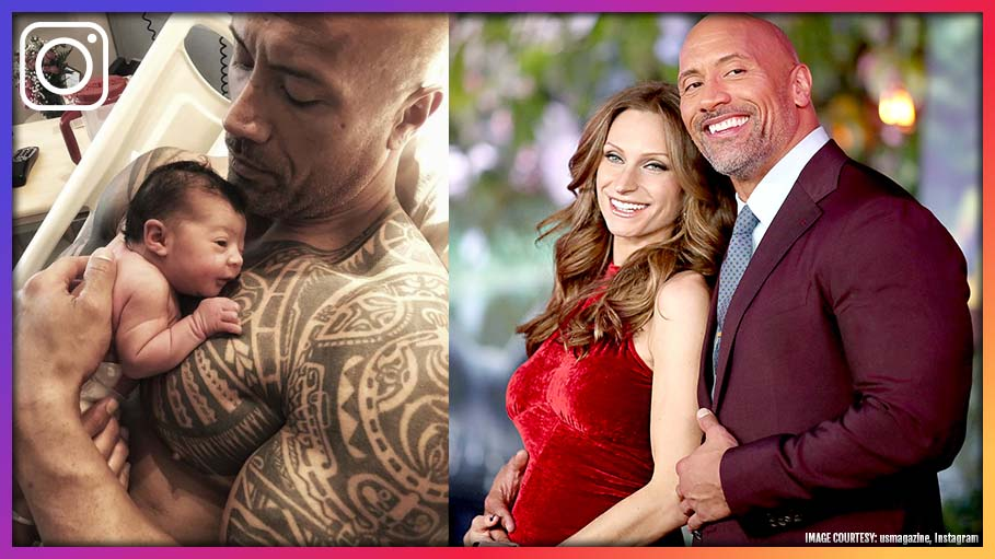 'The Rock' Gives A Hearty Welcome To Baby Tiana On Instagram