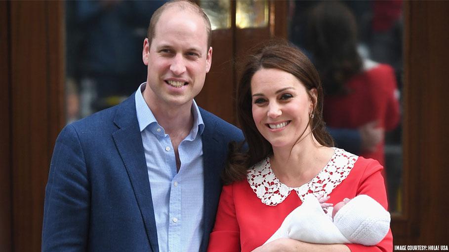 The Duke And Duchess Of Cambridge Name Their Newborn- Prince Louis Arthur Charles