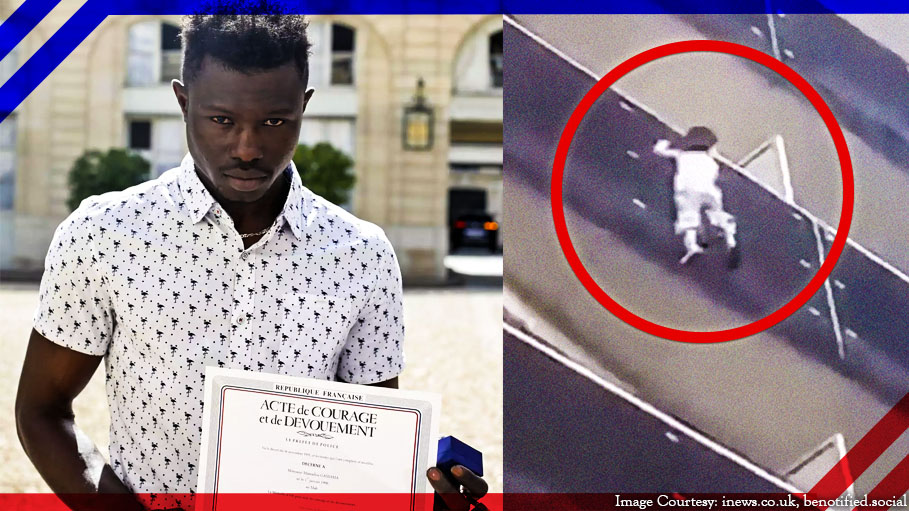 Immigrant Gassama, Nicknamed 'Spiderman' Has Been Offered French Citizenship for Saving a 4-Year Old Boy by Scaling a Building