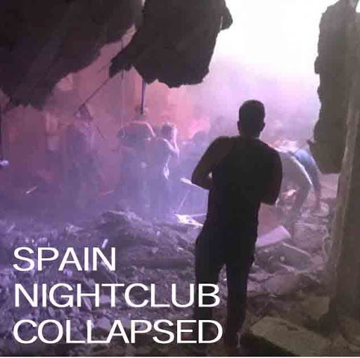 Collapse of Nightclub Dancefloor in Tenerife Island of Spain