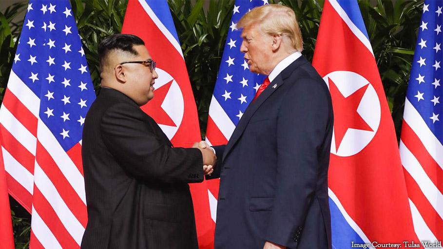 Finally Kim and Trump Met !!!