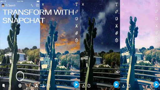 New Filters from Snapchat Can Transform Your Surrounding