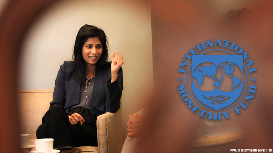 Image result for Gita Gopinath, the IMF's first female