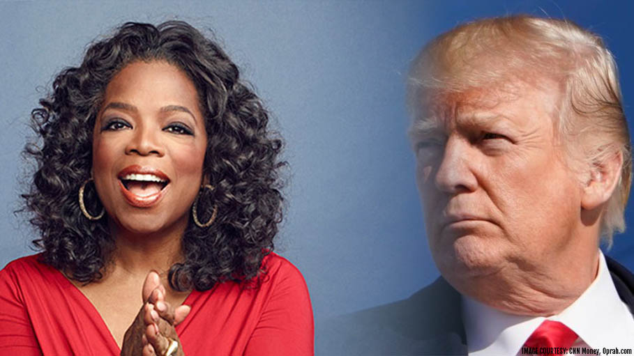 Trump Challenged Oprah as an Opponent in the 2020 Presidential Race
