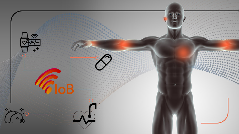 Internet of Bodies (IoB) Extends Internet of Things (IoT) – Redefines Future of Bionics and Embedded Systems