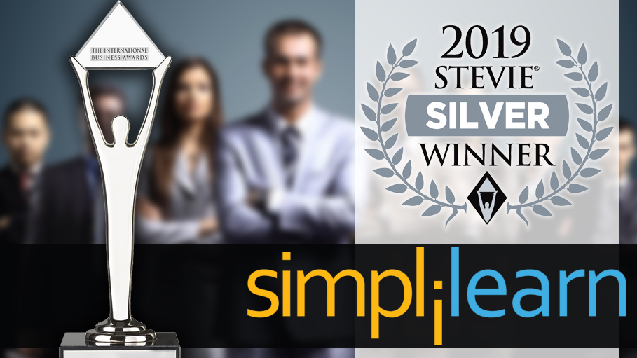 Simplilearn Wins 2019 Stevie Award for Customer Service Success