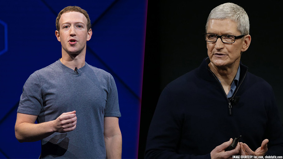 Angry with Tim Cook, Mark Zuckerberg Orders Staffs to Stop Using iPhones
