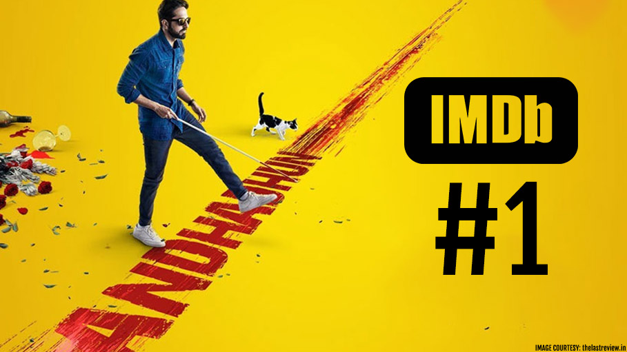 Andhadhun - the #1 Movie of 2018 in IMDB Indian Film Ratings