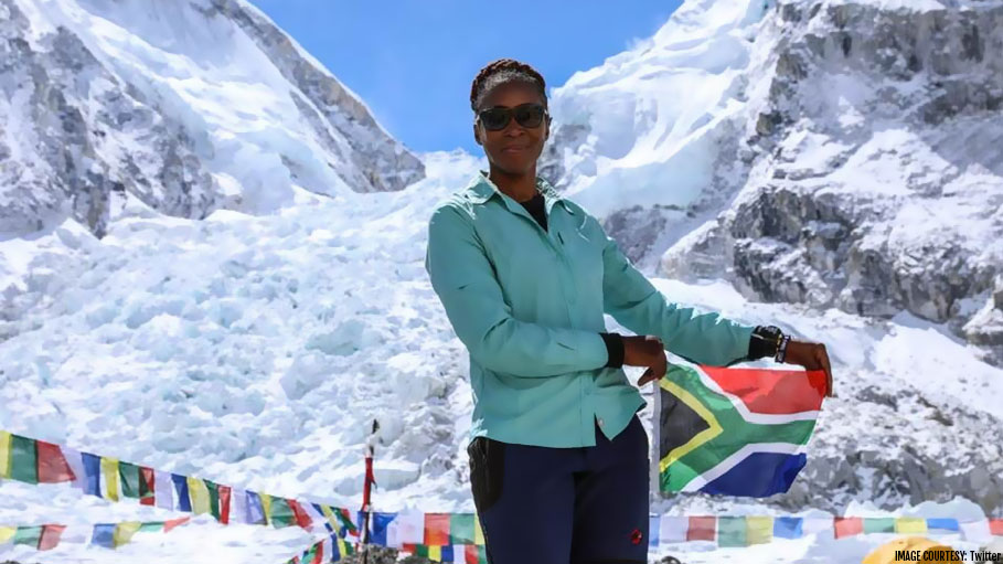 Saray Khumalo Becomes the First Black Woman to Conquer Mt Everest