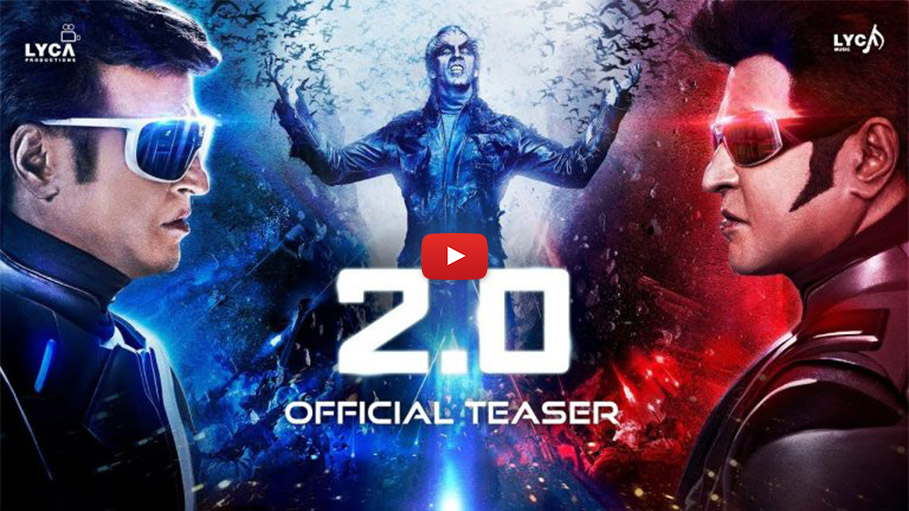 'Robot 2.0' Teaser Waves around Mindblowing Special Effects, Watch out for Super Star Rajnikanth vs Crow Man Akshay