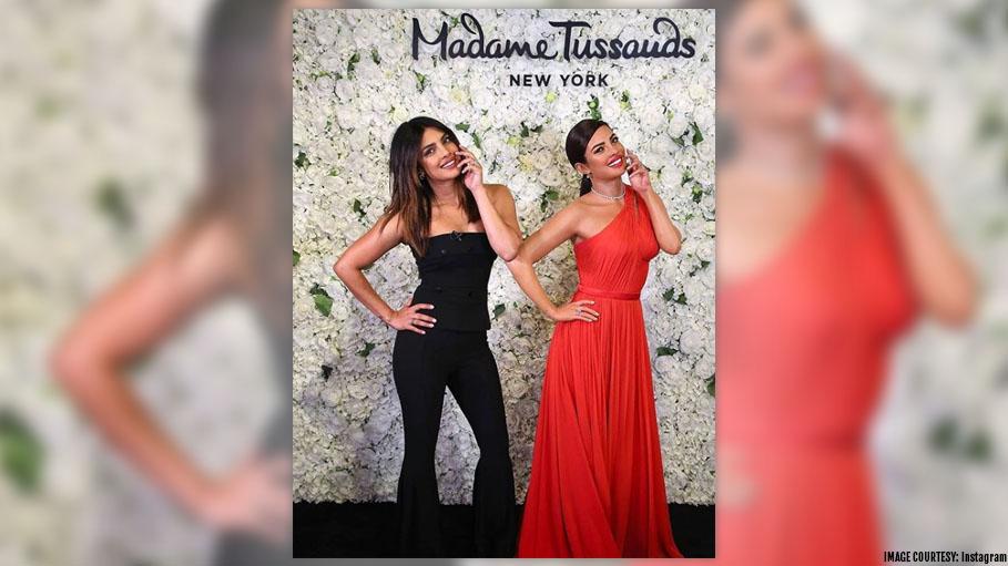 Priyanka Chopra Unveils Her First Wax Statue at Madam Tussauds and Nick Jonas Is Not Far Behind