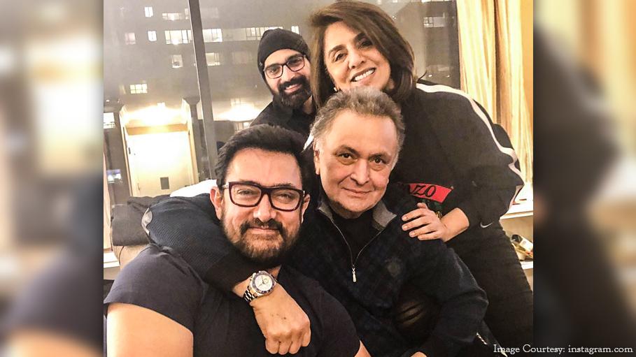 Aamir Khan Visits Rishi Kapoor in New York and Neetu Kapoor Is All Praise of Him