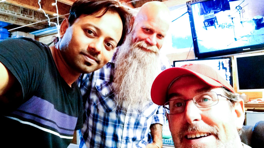 Michael Oesch, Rhitom Initiate Indo Canadian Slide Guitar Music Project
