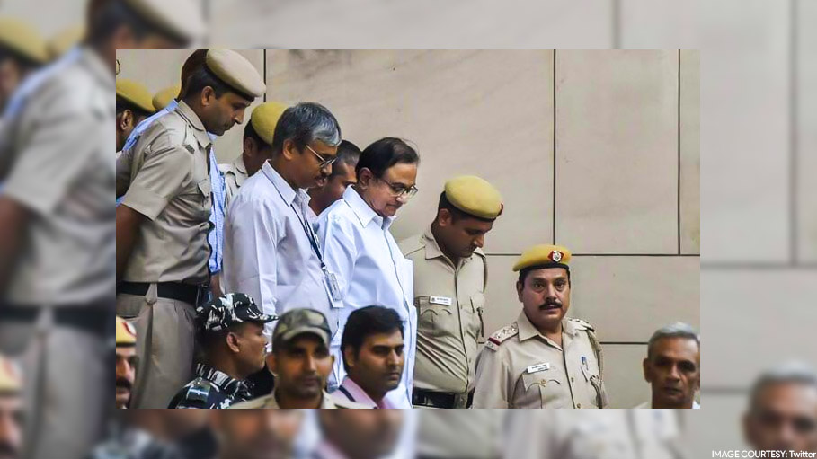 Former Finance Minister P. Chidambaram Sent to Tihar Jail