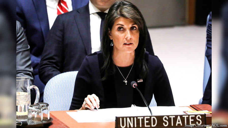 Nikki Haley Sternly Asks US Government to Stop Supporting Pakistan