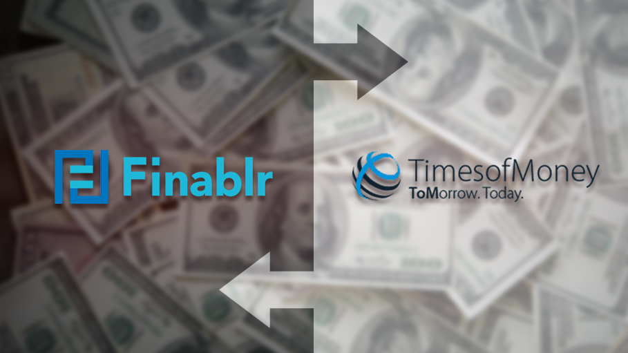 Finablr Acquires TimesofMoney