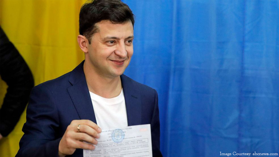 Comedian Volodymyr Zelensky Wins Presidential Election in Ukraine