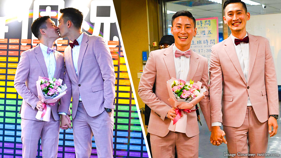 Taiwan Holds Asia's First Gay Legal Marriage