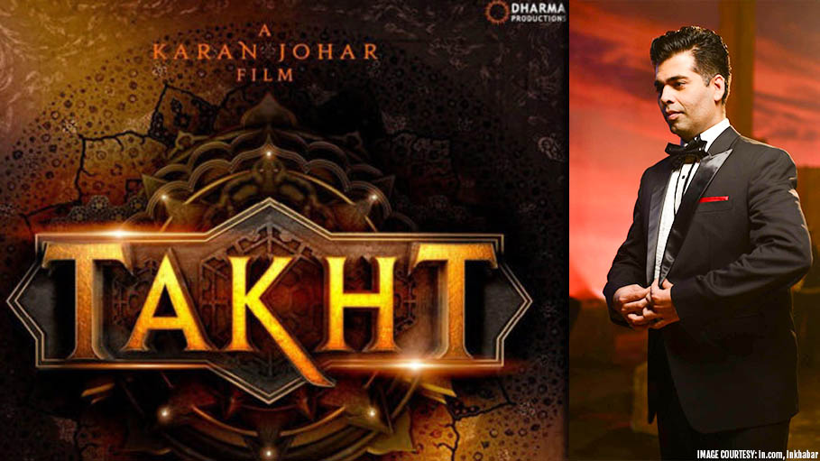 Karan Johar's Periodic Drama 'Takht' Glimmers with the Hottest Bollywood Starcast