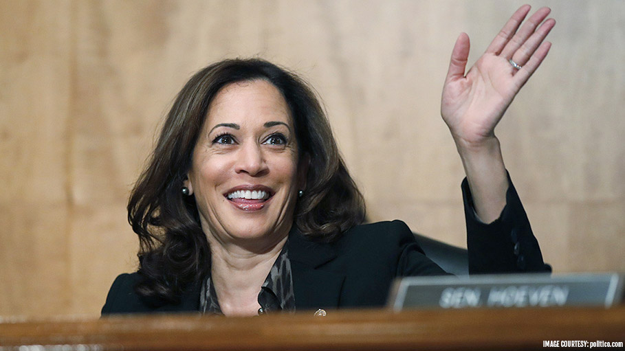 First Indian Origin Senator Kamala Harris, also in the race of 2020 US Presidential Election