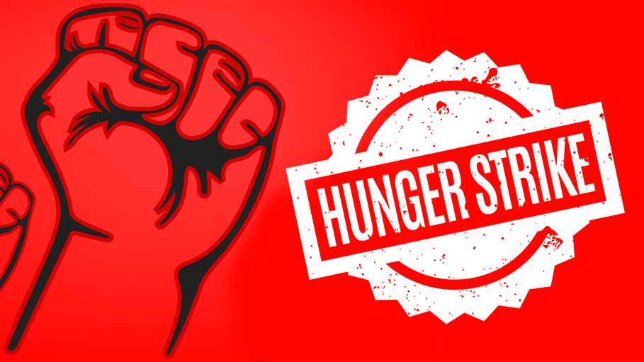 DUTA Observes Hunger Strike to Protest Against Non-Payment of Salaries to Employees