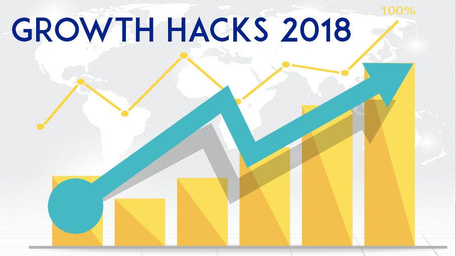 Push Yourself Forward with Effective Growth Hacks 2018