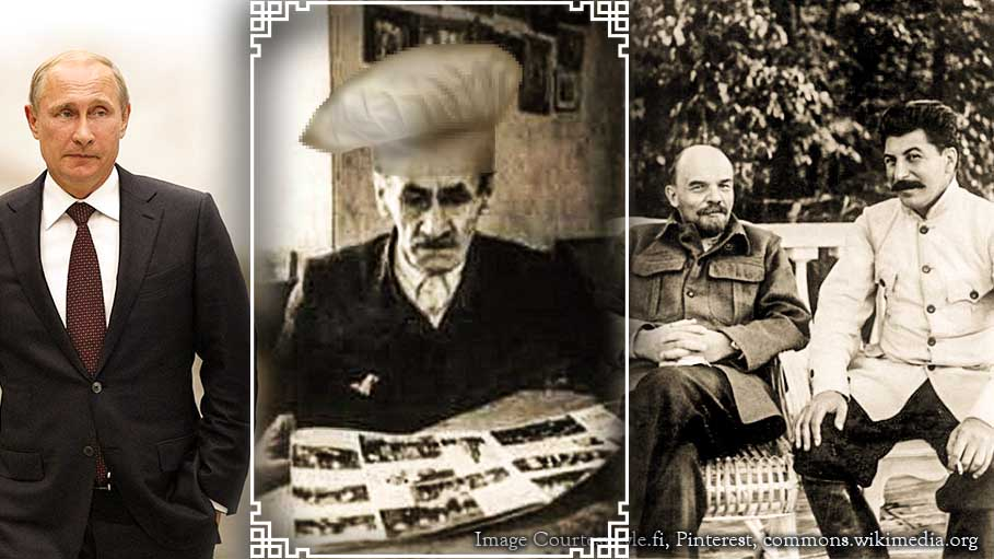 Putin S Grandfather Was The Cook Of Stalin And Lenin