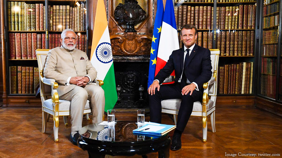 France Supports India's Stand on Kashmir, Says It Can be Resolved Bilaterally